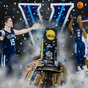 Villanova 2016 National Champions - Spector Art