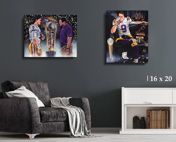 Burreaux Bundle - Canvas Collection - Spector Sports Art - 16 X 20 Canvas (20% OFF)