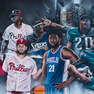 """Phutures Past"" Philly Legends - Spector Art"