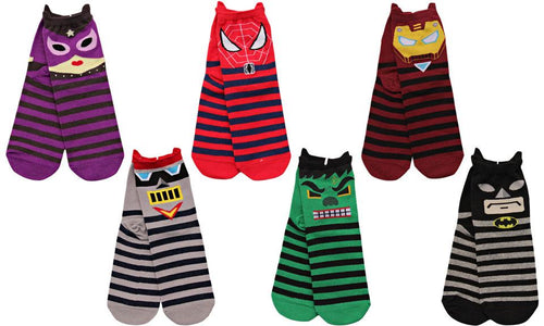 Unisex Cartoon League of Legends Cotton Socks(6 pack) - WealFeel