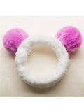 WealFeel Fashion Lovely Cat Ears Makeup Headband - WealFeel