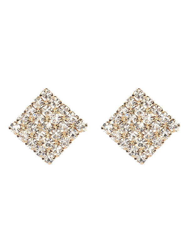 WealFeel Sparkling Square Earrings - WealFeel