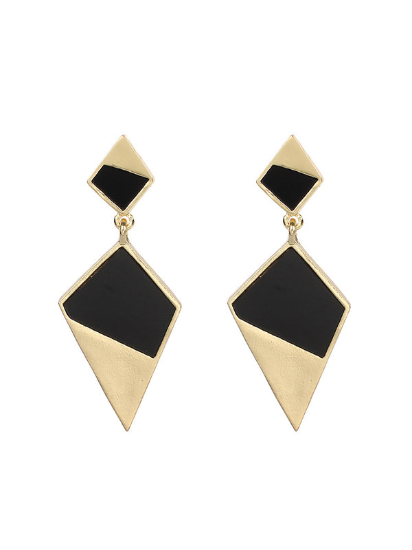 WealFeel Geometric Diamond Earrings - WealFeel