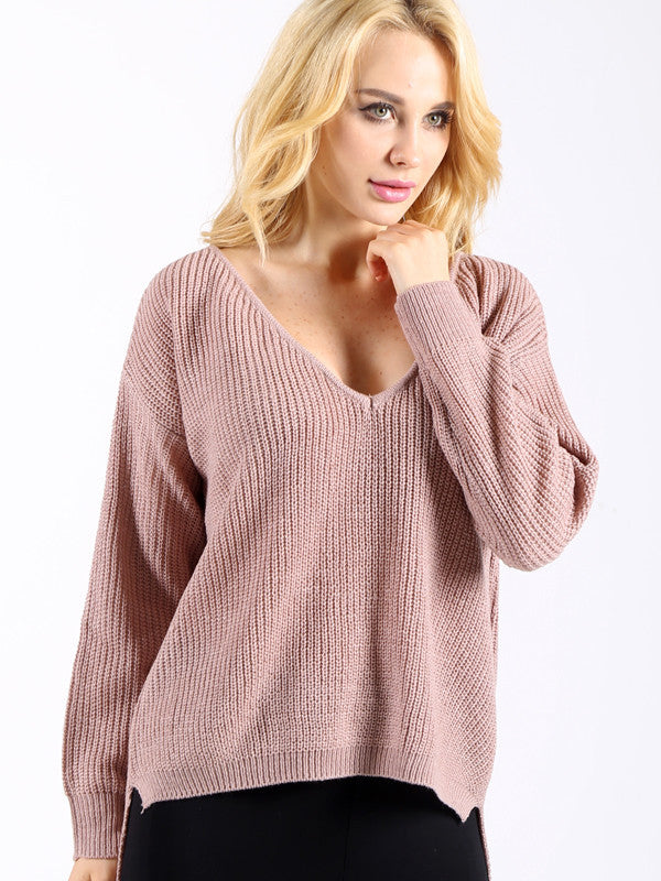 Simple as This Knit Sweater - WealFeel