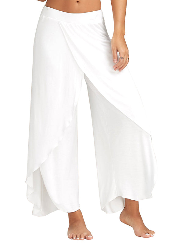 Popular yoga pants wide leg pants - WealFeel