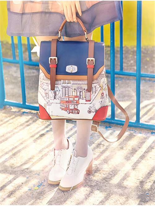 Love Me Love My British style Backpack - WealFeel