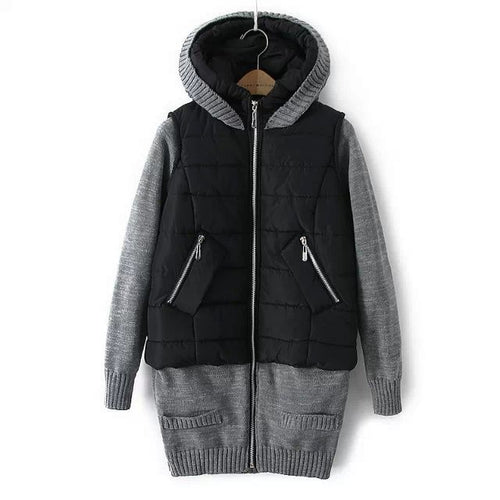Women's Winter Hooded Sweater Warm Outwear - WealFeel