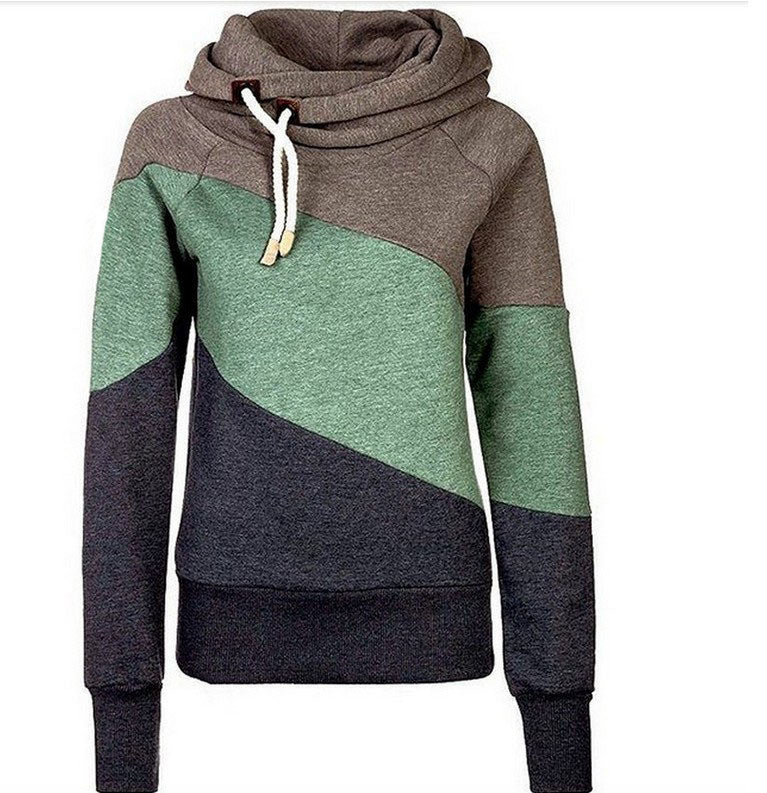 WealFeel Casual On Street Splicing Hooded Sweatshirt - WealFeel