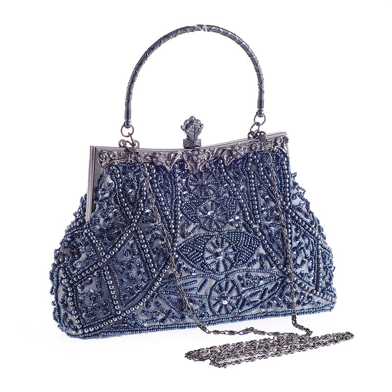 Women's Vintage Style Evening Bag Wedding Party Handbag - WealFeel