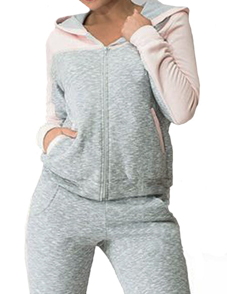 WealFeel Long sleeves Hooded Sportswear Suit - WealFeel