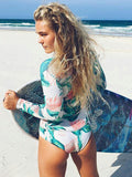 Floral Printed One-piece/Bikini Sets - WealFeel