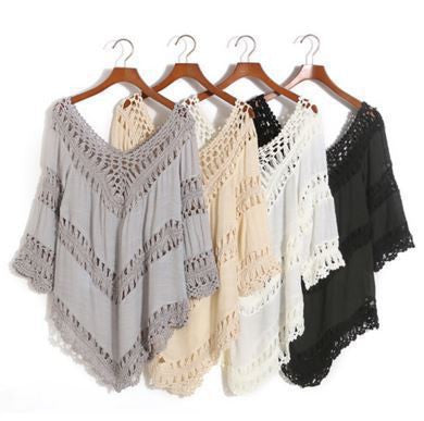 WealFeel No Way Crochet Cover-up - WealFeel