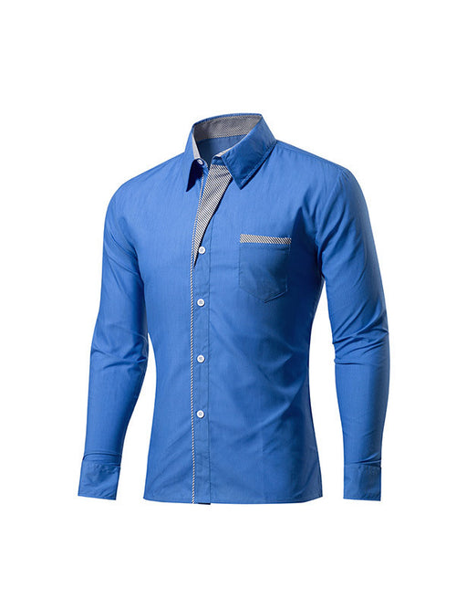 Men's Casual Long-sleeved Shirt