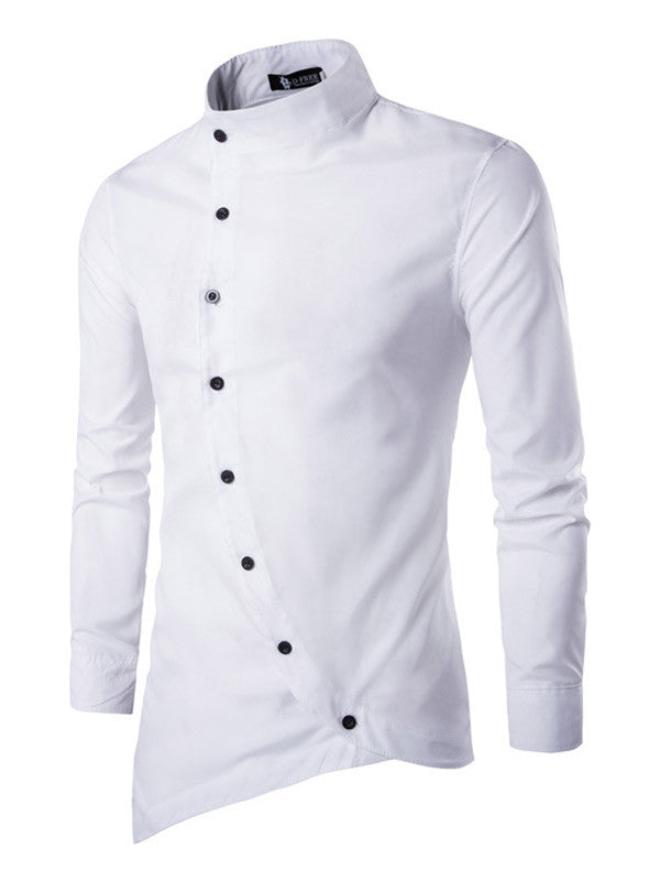 Fashion Men Casual Slim Fit Shirt - WealFeel
