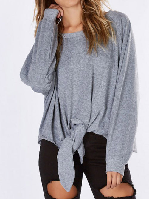 Women Casual Long Sleeve Loose Coat - WealFeel