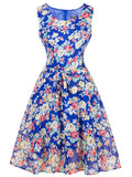 Flower Power Sleeveless Dress - WealFeel