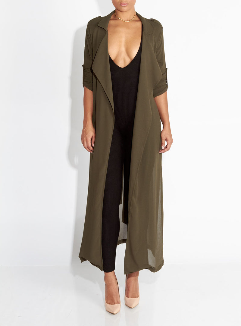 Women Chiffon Long Sleeve Cardigan - WealFeel