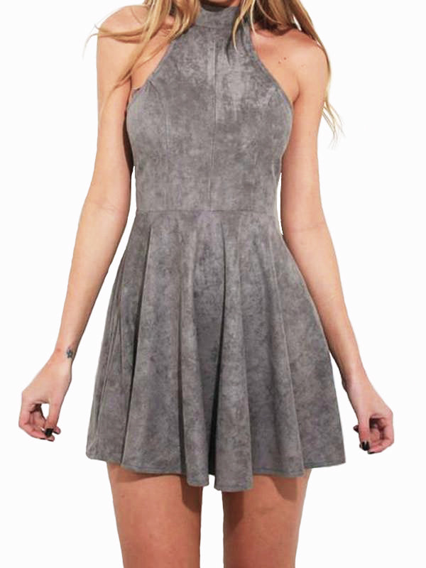 Womens Bandage Bodycon Sleeveless Mini Dress - WealFeel