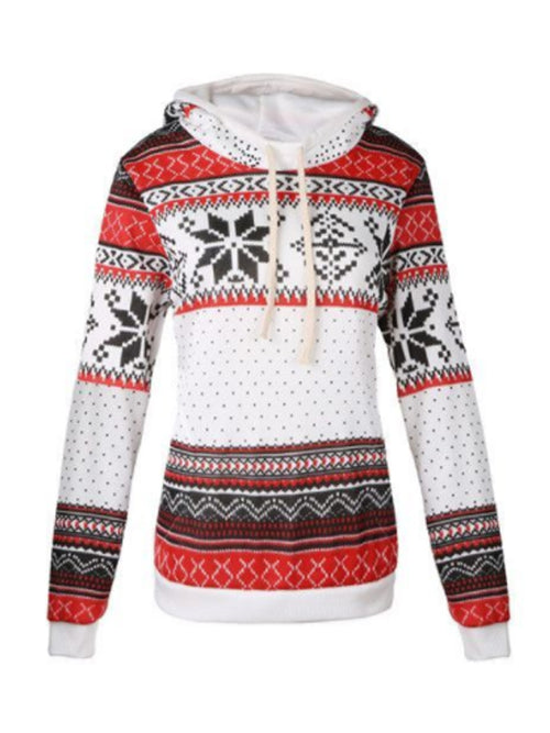 WealFeel Snow Print Sweatshirt - WealFeel