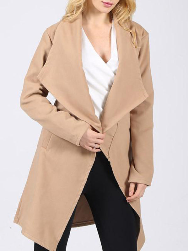 Woolen Trench Coat - WealFeel