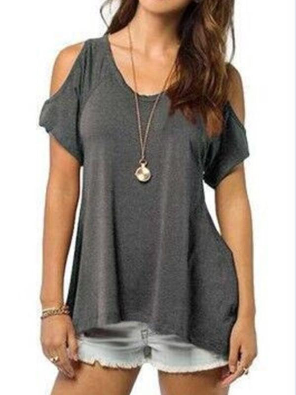 Wild Honey Cold Shoulder Top - WealFeel