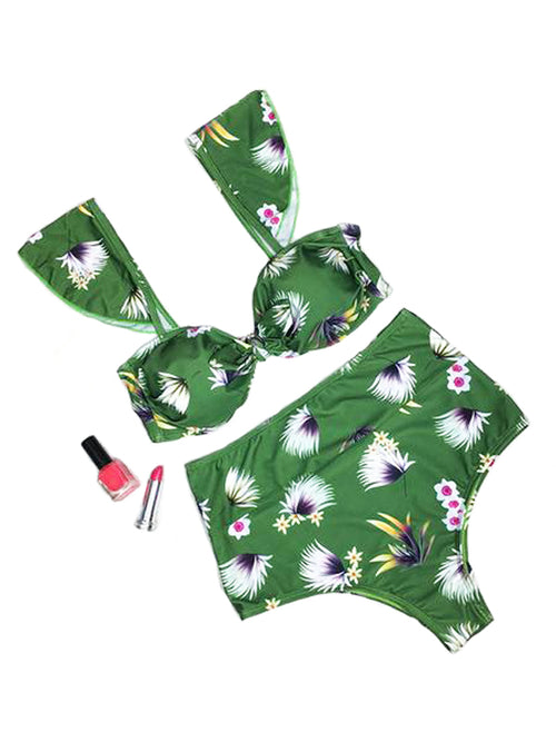 Look of Love Fresh Daisy Bikini Sets - WealFeel