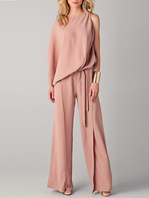 Sexy Long Wide Leg Jumpsuits Rompers - WealFeel