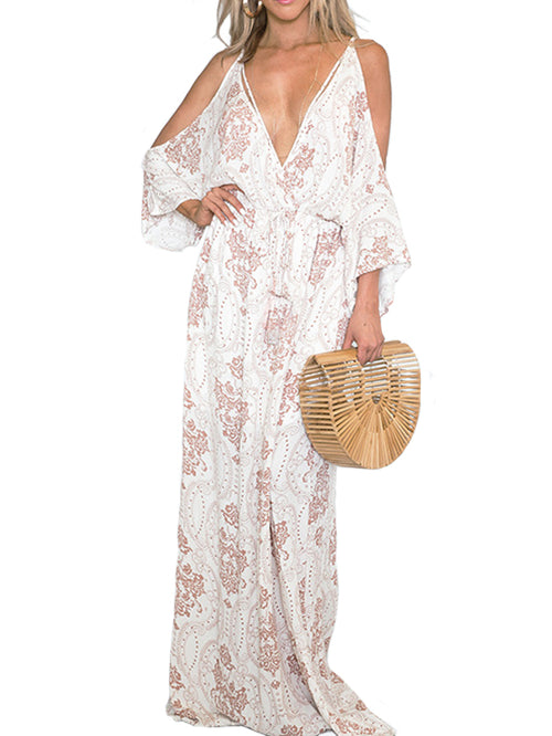 Beach Style Sling Dress - WealFeel