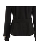 Popular Womens V-neck Short Outwear Jacket Coat - WealFeel