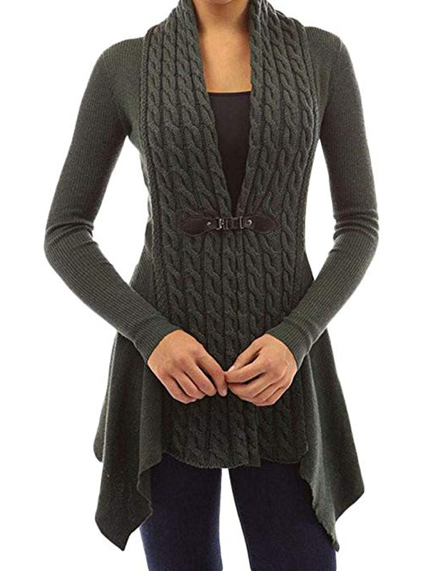 With Or Without You Knitted Cardigan - WealFeel