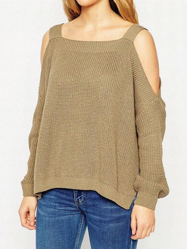 WealFeel Shrug It Off Off-the-Shoulder Sweater - WealFeel
