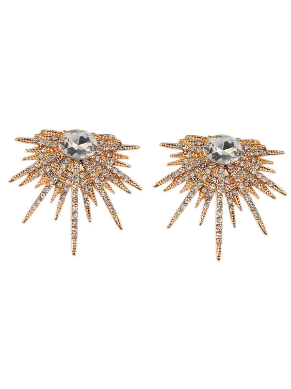 WealFeel Sun Flower Alloy Earrings - WealFeel