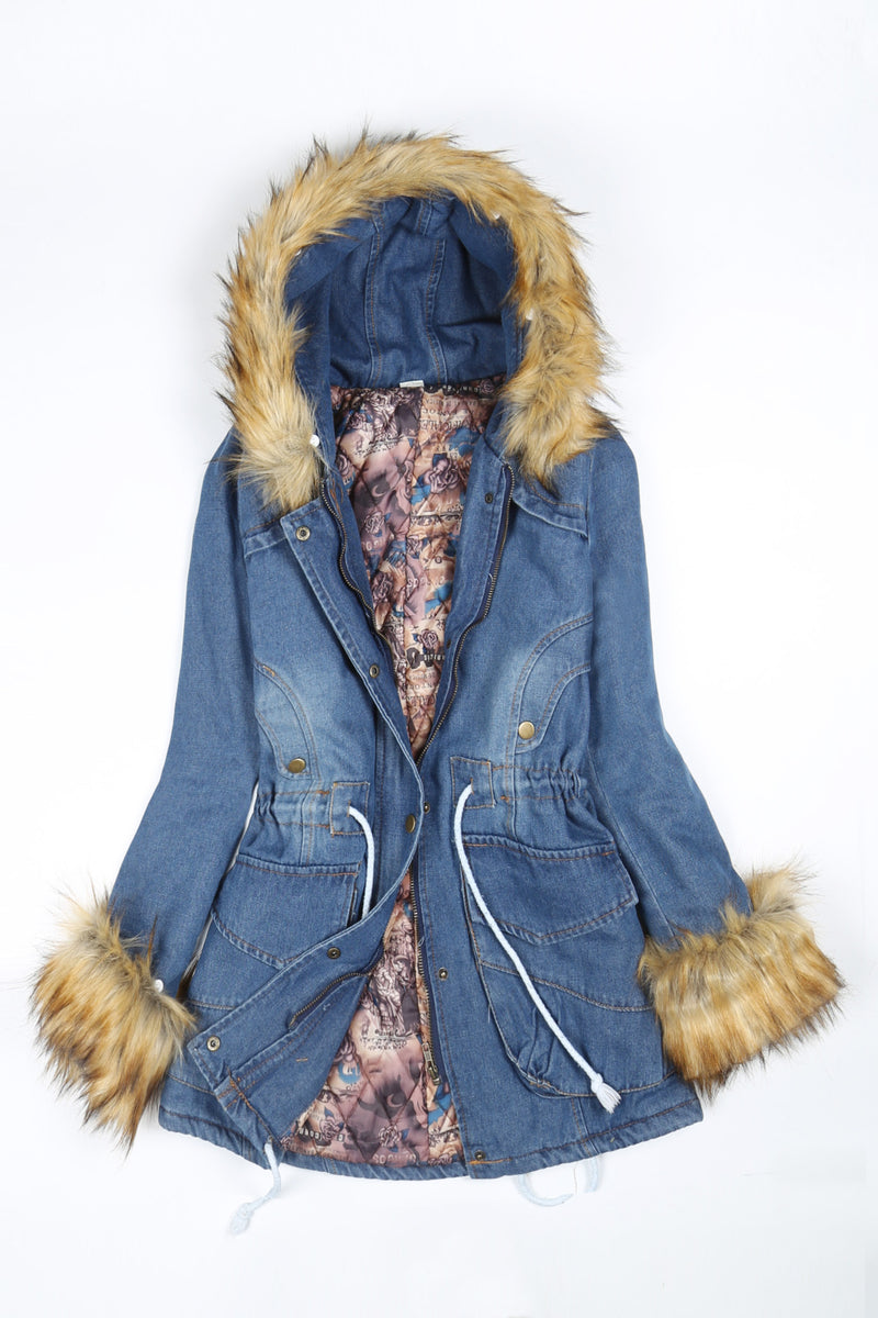 Denim Little Games Winter Coat - WealFeel