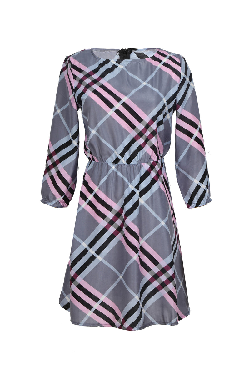 Dating With This Sexy Plaid Dress - WealFeel