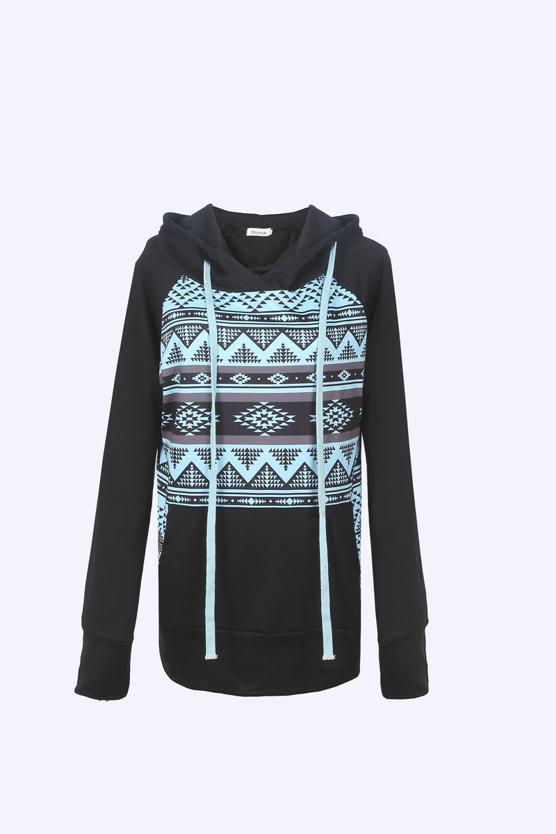 WealFeel Unique Print Hooded Sweatshirt - WealFeel