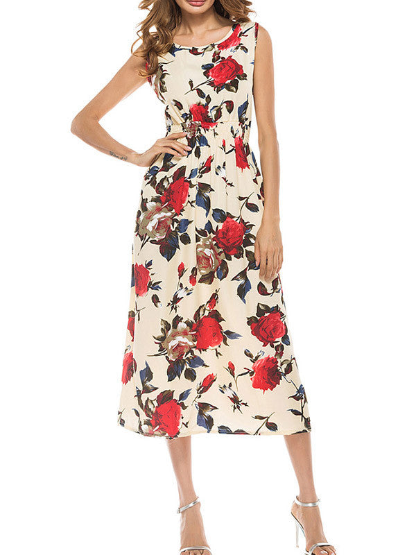 Run For the Roses Elegant Dress - WealFeel