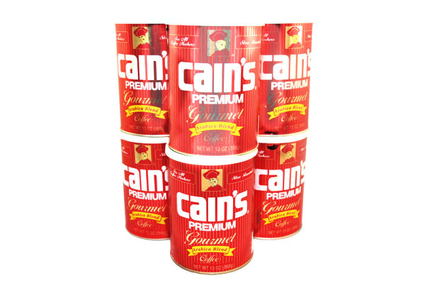 cains coffee 6 pack