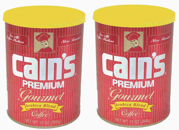 Cain's coffee 2 pack