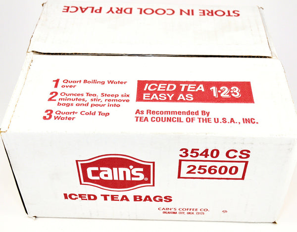 Cain's Ice Tea Gallon SIze
