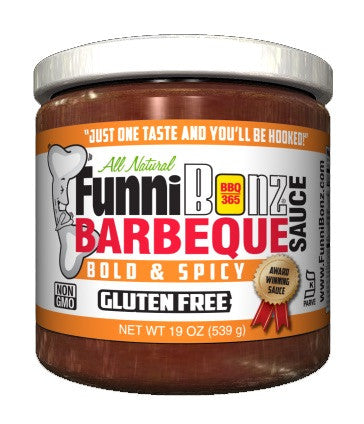 Spicy BBQ Sauce (Case of 6) - FunniBonz BBQ