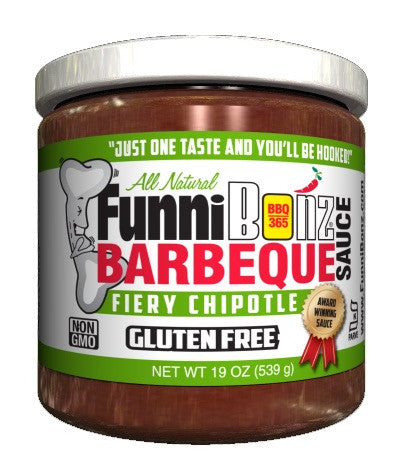 Chipotle BBQ Sauce (Case of 6) - FunniBonz BBQ
