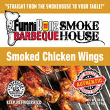 Smoked Chicken Wings (2lbs) - FunniBonz BBQ