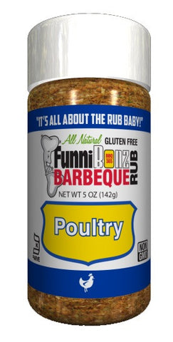 FunniBonz All Natural  Poultry Rub