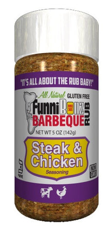 Chicken & Steak Seasoning - FunniBonz BBQ