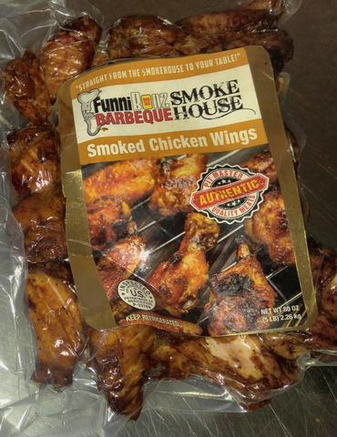 Smoked Chicken Wings - FunniBonz BBQ