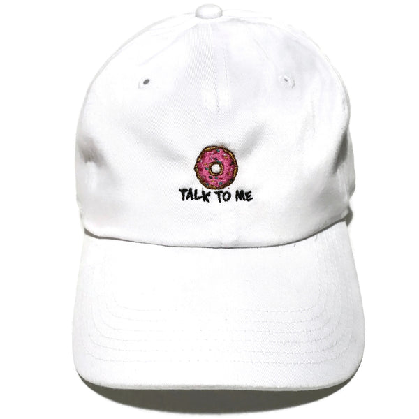 Donut Talk to Me Cap
