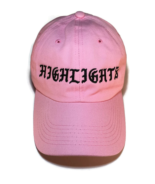 "Pablo's Pink ""Highlights"" Cap"