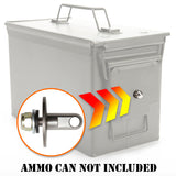 Ammo Can Lock Hardware Kit