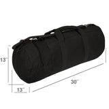 "Spartan Crossed Swords 30"" Double Ender Duffel Sport Bag with Detachable Strap"