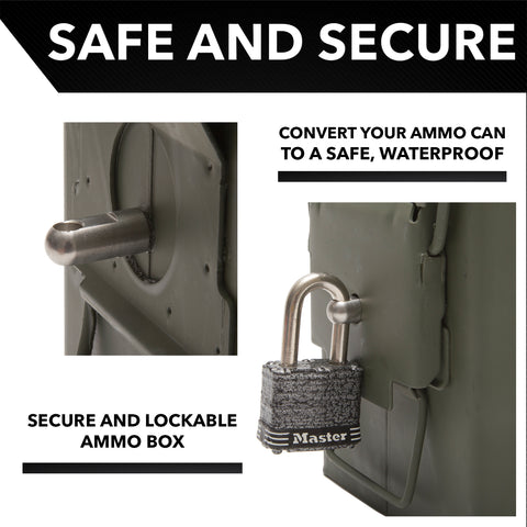 Ammo Can Lock Hardware Kit Army Force Gear